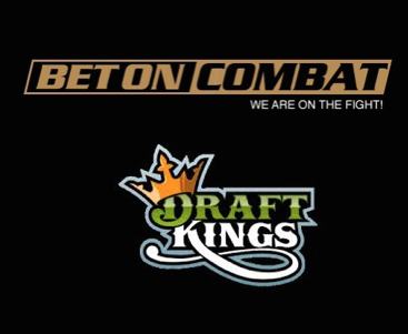 Draftkings Becomes Official Fantasy Gaming Partner of Bet on Combat