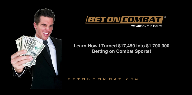 Become A Six-figure Combat Sports Bettor