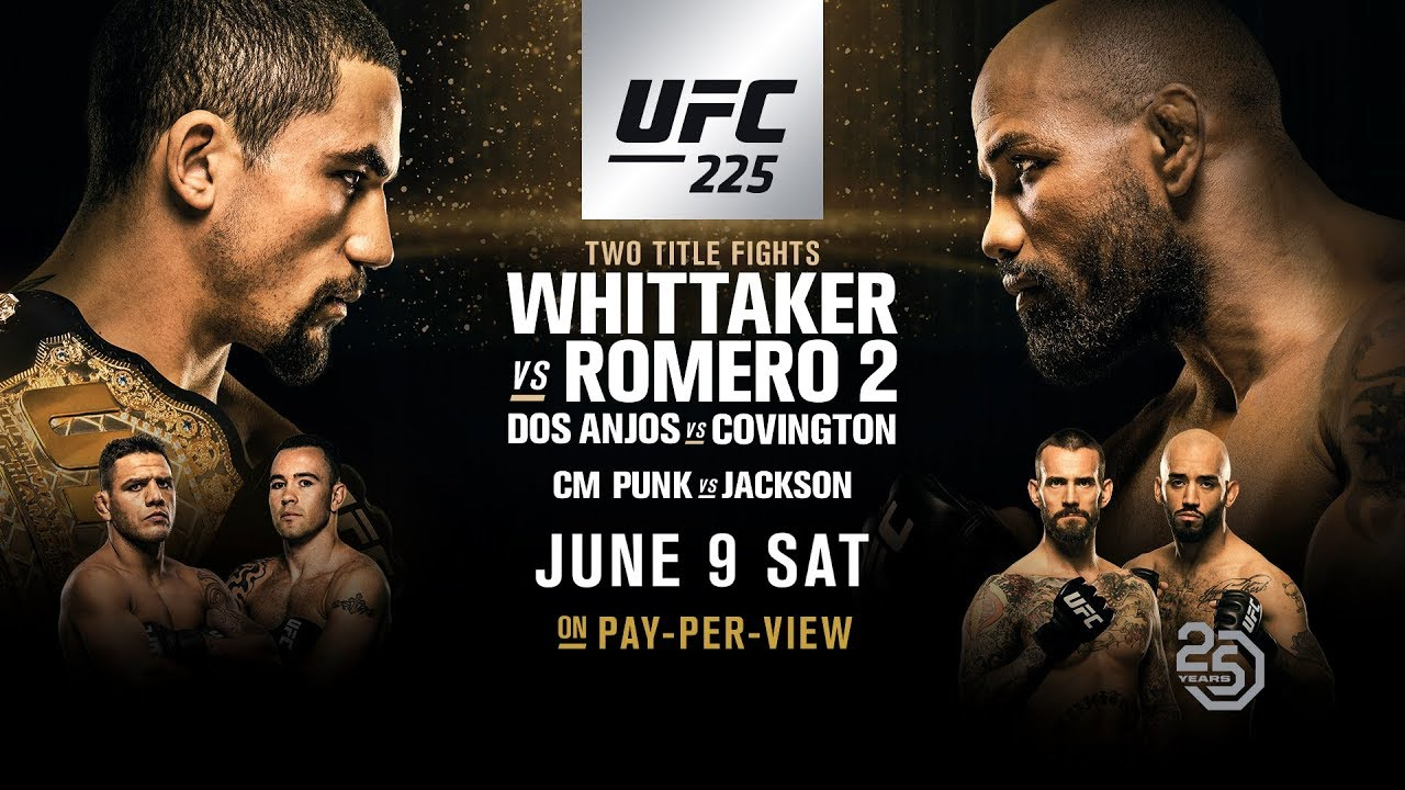 UFC 225: Opening Odds