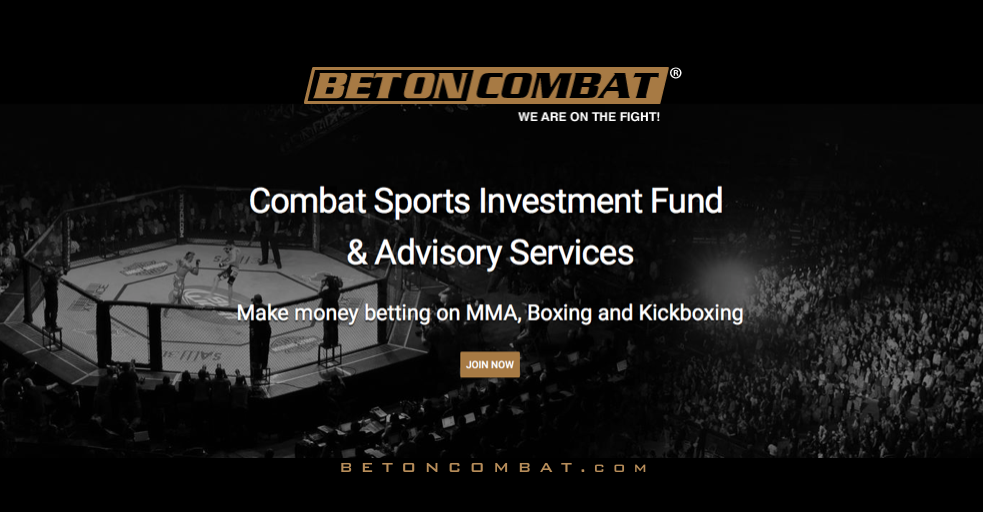 Bet on Combat: Your Combat Sports Investing and Bankroll Management Specialist.