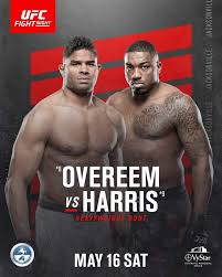 UFC on ESPN: Overeem vs. Harris